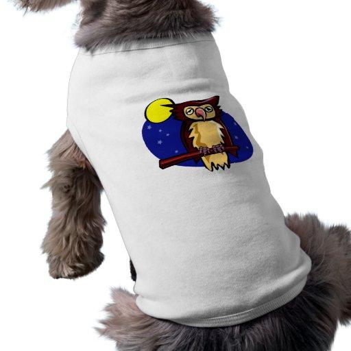 Olen Owl Dog T-shirt