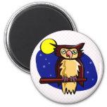 Olen Owl Refrigerator Magnets