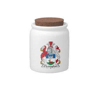 O'Lenaghan Family Crest Candy Dish