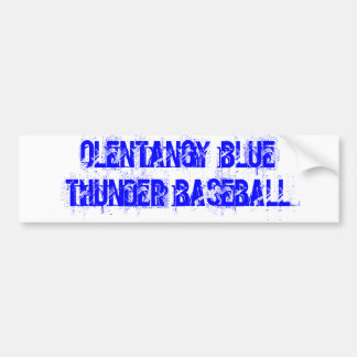 OLENTANGY Blue Thunder Bumper Stickers