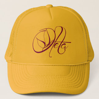 Oleta Hat (purple and yellow)
