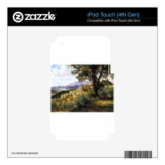 Olevano by Albert Bierstadt iPod Touch 4G Decals