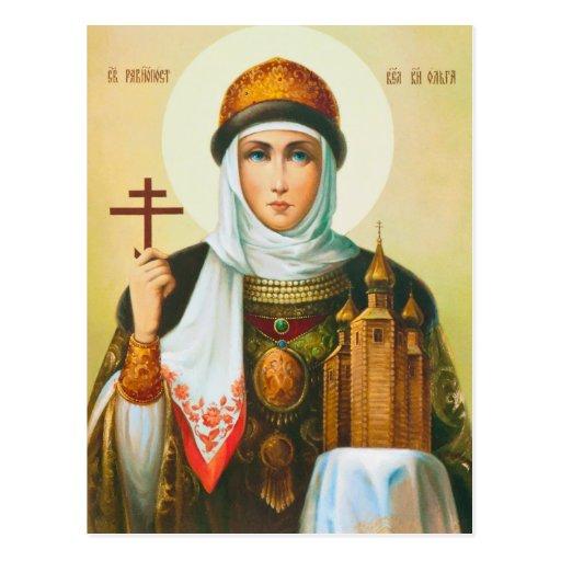 Olga Postcard