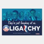 Oligarchy 2012 Customizable Yard Signs