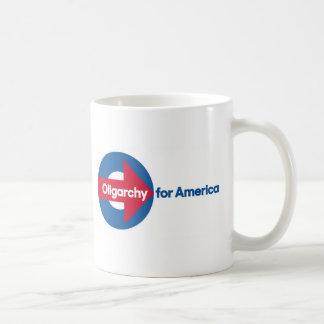Oligarquía para América Taza De Café