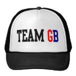 Olimpiadas del GB Londres del equipo Gorros