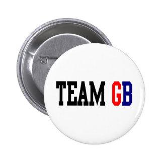 Olimpiadas del GB Londres del equipo Pins