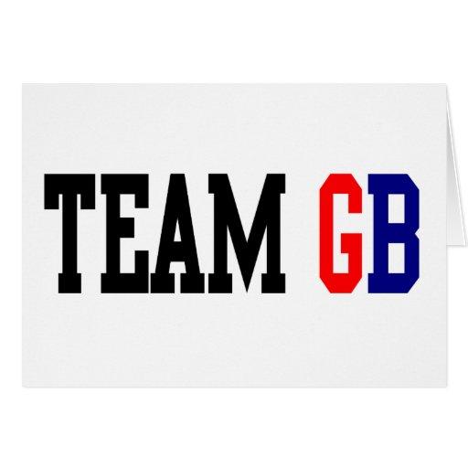 Olimpiadas del GB Londres del equipo Felicitaciones