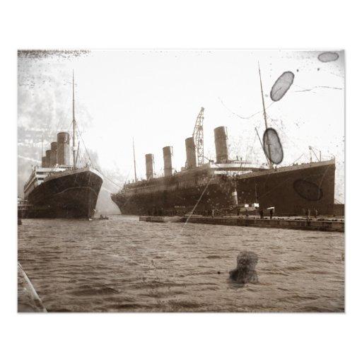 """Olímpico y titánico folleto 4.5"""" x 5.6"""""""