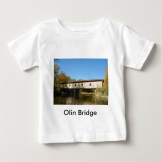 Olin Bridge Ashtabula County Ohio Baby T-Shirt