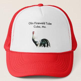 Olin Fineweld Tube, Cuba, Mo. Global Brass Trucker Hat