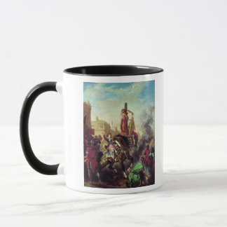 Olinda and Sophronia on the Pyre Mug
