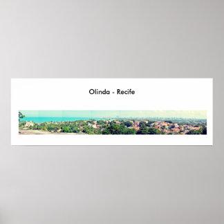 OLINDA RECIFE BRAZIL PHOTOGRAPHY PANORAMIC POSTER