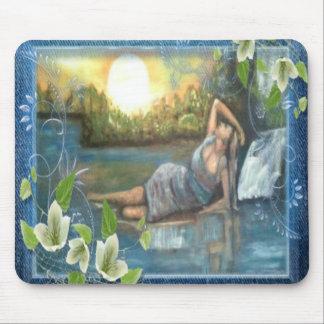 olio su tela dipinto originale inedito mouse pad