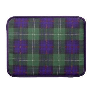Oliphant clan Plaid Scottish kilt tartan MacBook Air Sleeves