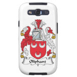 Oliphant Family Crest Samsung Galaxy S3 Covers