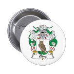 Oliva Family Crest Pinback Buttons