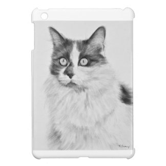 Oliva the Cat Drawing Cover For The iPad Mini