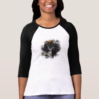 Olive - 3/4 Sleeve Raglan T-Shirt