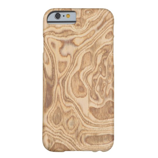 Olive Ash Burl Veneer Real Wood Iphone 6 Case