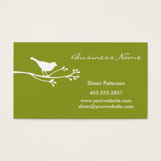 Olive Bird Business Card