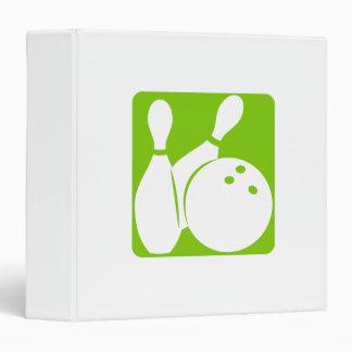 Olive Bowling Binder