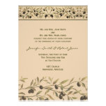 Olive Branch: A Tuscan Touch Custom Invitations
