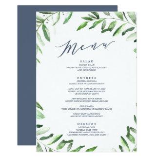 Olive Branch Boho Garden Card