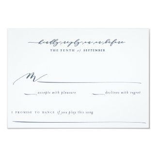 Olive Branch Boho Garden Wedding Reply Card