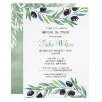 Olive Branch Botanical Bridal Shower Invitation