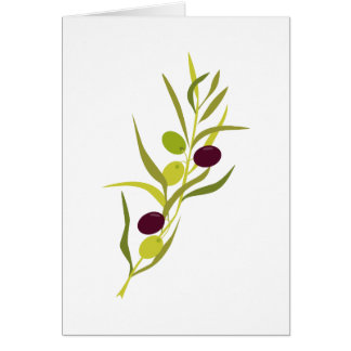 Olive Branch Greeting Cards