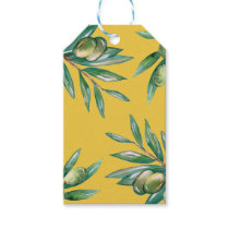 Olive Branch Pattern Gift Tags
