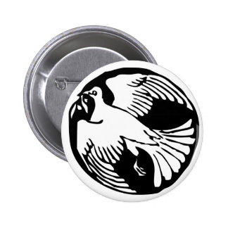 Olive Branch Peace Dove Button