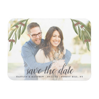 Olive Branch Wedding Photo Save The Date