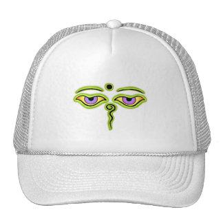 Olive Buddha Eyes.png Trucker Hat