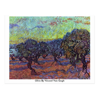 Olive By Vincent Van Gogh Post Cards