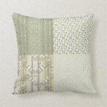 Olive Delft Pillow
