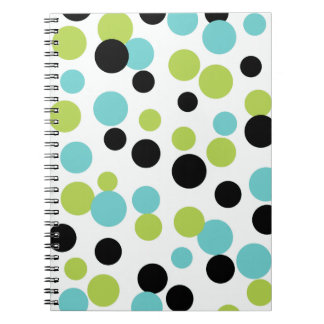Olive Dots Notebook