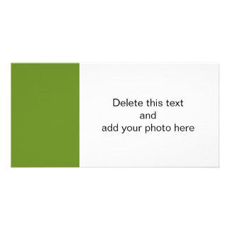 Olive Drab High End Designer Color Card