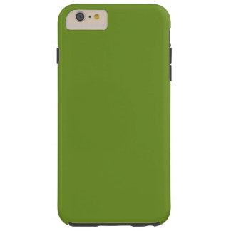 Olive Drab High End Designer Color Tough iPhone 6 Plus Case