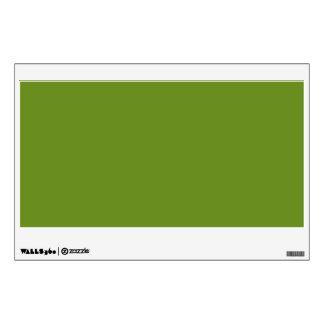 Olive Drab High End Designer Color Wall Sticker