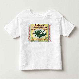 Olive Eatmor Cranberries Brand Label Toddler T-shirt