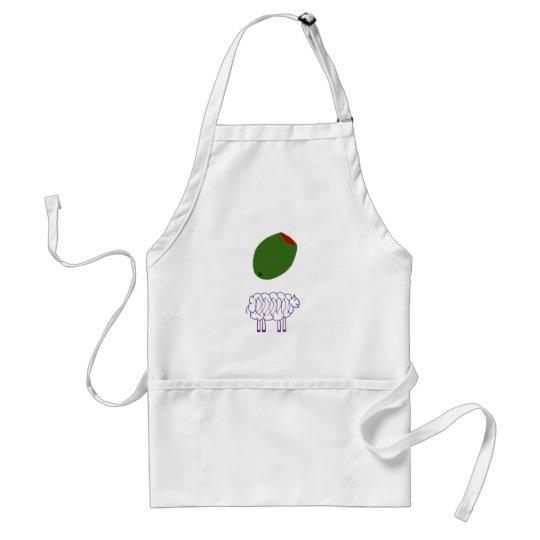 Olive Ewe Adult Apron