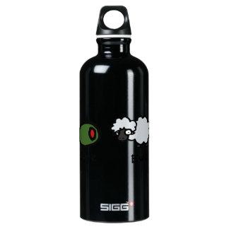 Olive Ewe Aluminum Water Bottle