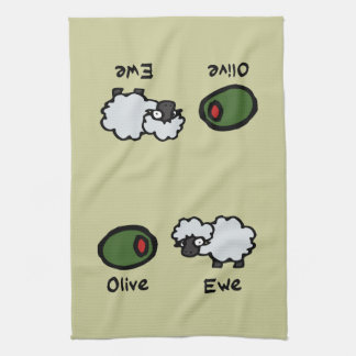 Olive Ewe Kitchen Towels