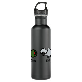 Olive Ewe Water Bottle