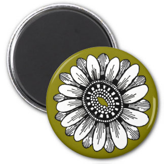 olive flower magnet