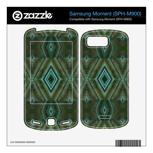 olive green abstract skin for samsung moment