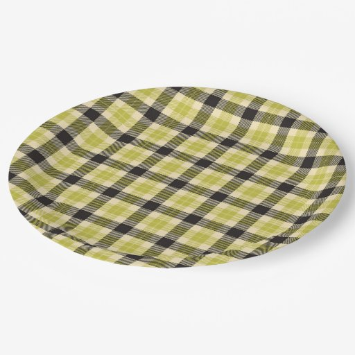 Olive Green And Black Tartan Plaid Paper Plates 9 Inch  sc 1 st  Castrophotos & Tableset and Tableware - Castrophotos