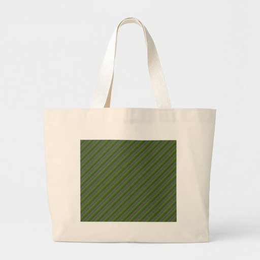 Olive Green and Silver Stripes Bags